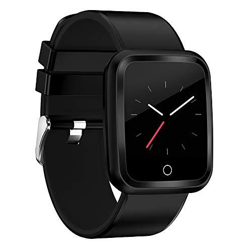 FOSUN N1 Reloj Inteligente, Fitness Tracker Smart Watch IP68 Rastreador de Actividad a Prueba de Agua con Monitor de Ritmo cardíaco Podómetro Paso Contador de calorías para Hombres Mujeres niños
