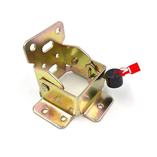 (2 piezas)90 grados autobloqueante plegable mesa pierna extensión estante soporte plegable telescópico...