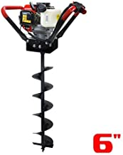 XtremepowerUS V-Type 55CC 2 Stroke Gas Post Hole Digger 3/4