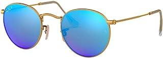 Ray-Ban RB3447 Round Metal Mirror Unisex Sunglasses