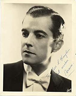 Ramon Novarro - Inscribed Photograph Signed