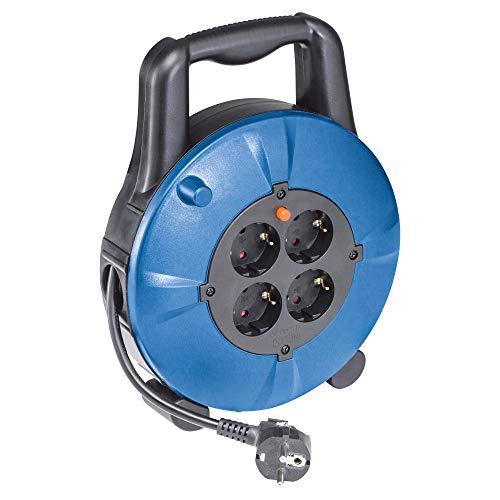 AS Schwabe 16094 - Carrete alargador de cable (10 m, H05VV-F 3G1,5,...
