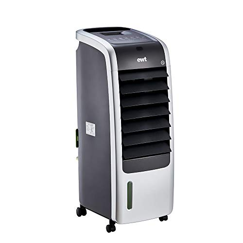 ewt Ventilator/Luftkühler/Heizlüfter Multipro, elektrisches Multifunktionsgerät mit Kühl- & Heizfunktion, inkl. Aromaverteiler, 65 W Lüftung/2000 W Heizleistung