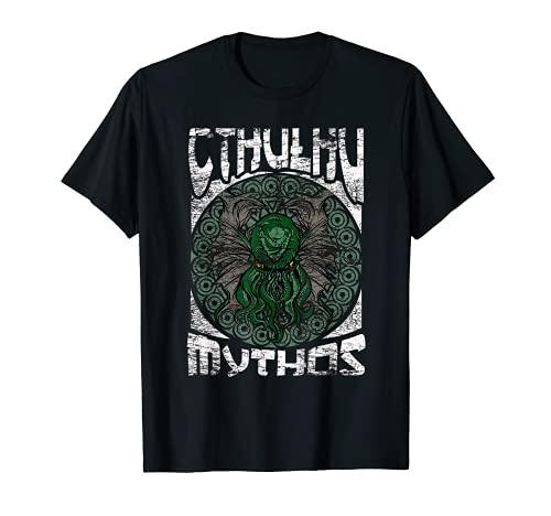 Cthulhu Mythos Kawaii Terror Mitos Ocultos de CTHULHU Camiseta