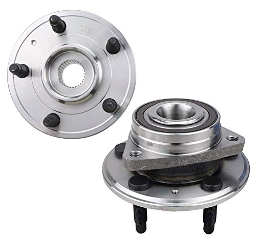 Bodeman - Pair 2 Rear Wheel Hub and Bearing Assembly for 2008-2016 Cadillac CTS (EXCEPT V Models)