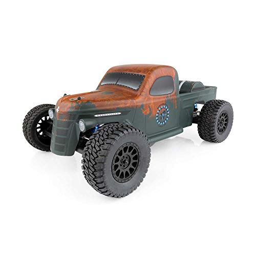 Team Associated 70019C Trophy Rat Short Course Truck, Brushless, Ready to Run, 1/10 Scale, 2WD, with LiPo Battery & Charger Combo