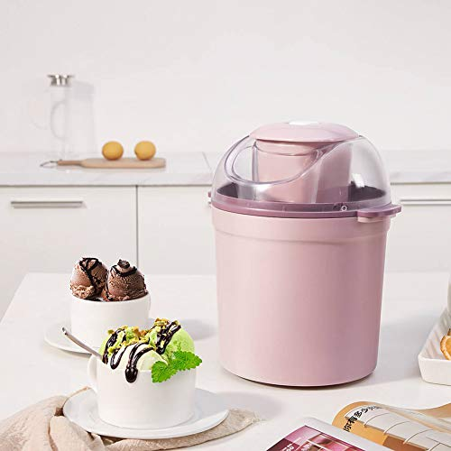 Great Deal! LISI Ice Cream Maker Mini Frozen Fruit Treats Machine Fully Automatic Personal Blender f...