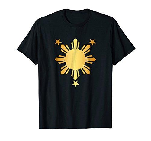 Pinoy Shirt Filipino Flag 3 Stars And a Sun T-Shirt