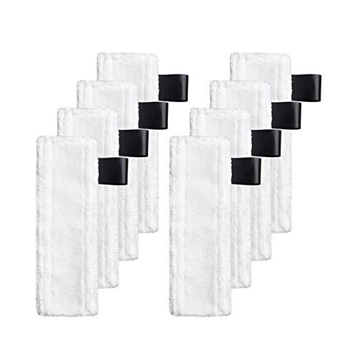 Reiniger-Zubehör passend für Kärcher EasyFix Dampfreiniger, Reinigungstuch, Reinigungstuch für Kärcher EasyFix SC2 SC3 SC4 SC5 Dampfreiniger Ersatzteile (Farbe: 3-teiliges Reinigungstuch) Bürsten-Set