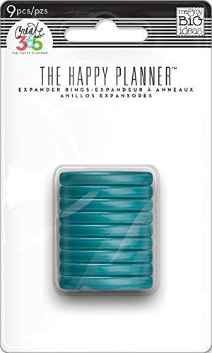 Me and My Big Ideas - anelli di espansione per agenda da 365 giorni, 1,25' (3,2 cm), colore: foglia di té., multicolore