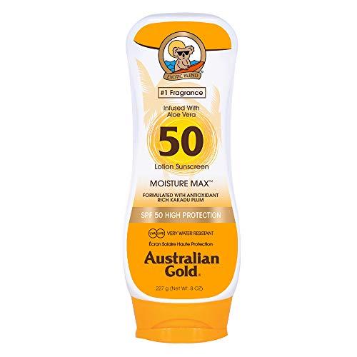 Australian Gold Lotion sans Agent Bronzant SPF 50 237 ml