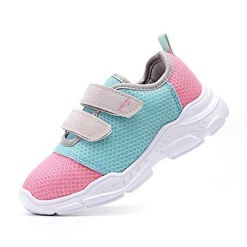 EIGHT KM peuter jongens en meisjes/kleine/grote kinderen lichtgewicht ademende klittenband ademende schoenen