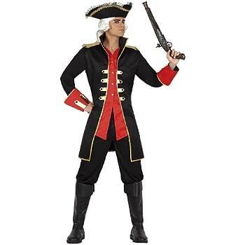 Atosa-22913 Disfraz Pirata, color rojo, M-L (22913): Amazon.es ...
