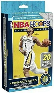 2019 20 Panini Hoops Premium Stock NBA Basketball HANGER box 20 cards box product image