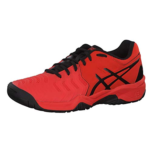 ASICS Junior Gel Resolution 7 GS all Court Breathable Cushioned Tennis Shoes