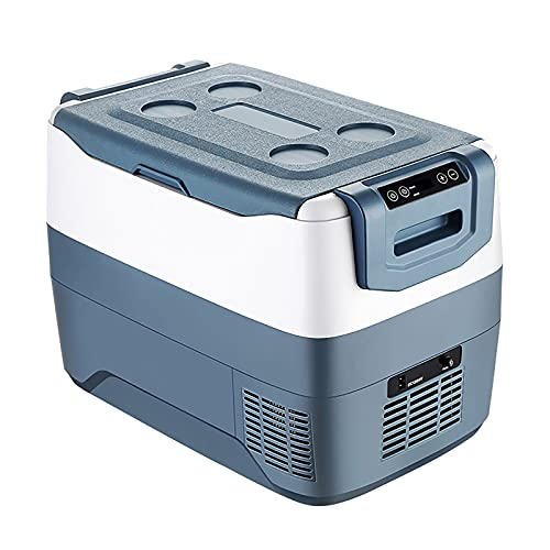 GETZ Mini Compresor Congelador, Nevera Coche Nevera Portátil Eléctrica Refrigerador para Automóvil para Conducir, Viajar, Pescar, Uso en el Hogar y Al Aire Libre, 30L / 40L / 50L