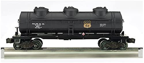 Williams By Bachmann Trains 3-Dome Tank Car - Phillips 66 - O Scale