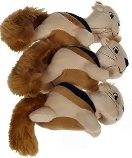 Kyjen Outward Hound Squeakn' Animals Squirrel (3 Pack)