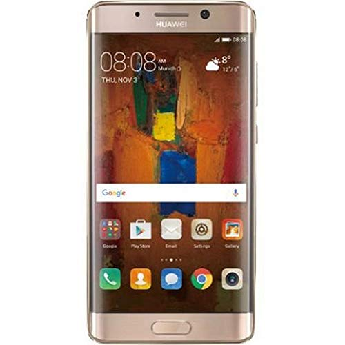 Huawei LON-L29 Haze Smartphone Mate 9 PRO (128GB Speicher, Dual SIM, LTE, WiFi, Bluetooth, Android 7.0 Nougat) Gold