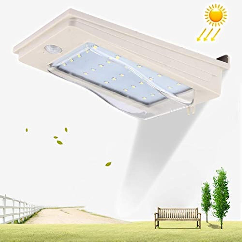 Einfach 3W 25 LED SMD2835 270 LM 6500K Weilichtbewegungssensor, Solarlicht Wandleuchte Auenlicht, Solarpanel, DC 12V Stabil