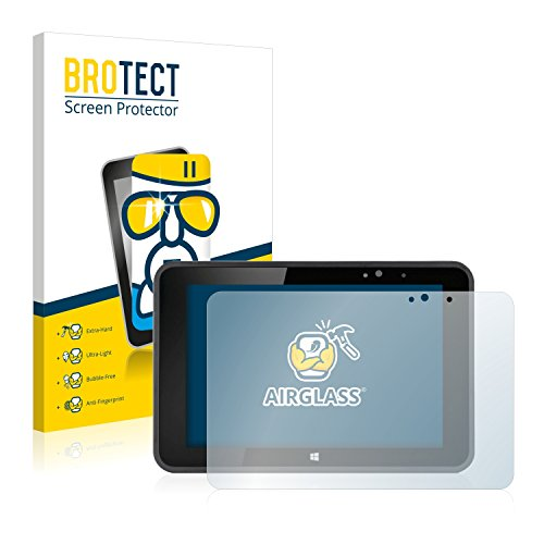 BROTECT Panzerglas Schutzfolie kompatibel mit Fujitsu Stylistic V535 - AirGlass, 9H Festigkeit, Anti-Fingerprint, HD-Clear