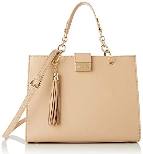 Trussardi Jeans Handbag, AMSTERDAM TOP HANDLE MD MONOCO Donna, Sand, NR