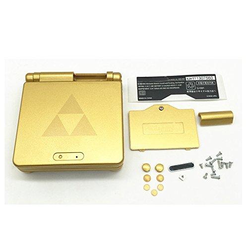 Custodia in oro + strumenti per GBA SP Gameboy Advance SP
