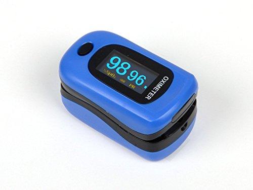 GiMa pulsoximetro oxy-4, small, 60g, blau, 1