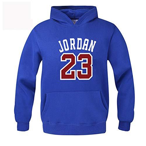 hooded sports men's plus youth loose sweatshirt jacket Hooded jacket fleece Blue