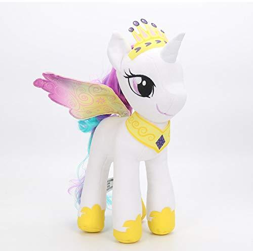 lili-nice Peluches My Little Pony La Amistad Es Mágica Princesa Celestia Princesa Luna Colección Muñecas Regalo De Cumpleaños para Niñas 30Cm