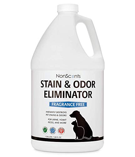 NonScents Pet Odor & Stain Remover Spray 24oz - Pet Stain & Odor Eliminator for Dog and Cat Urine (Fragrance-Free, Outperforms Baking soda & enzymes)