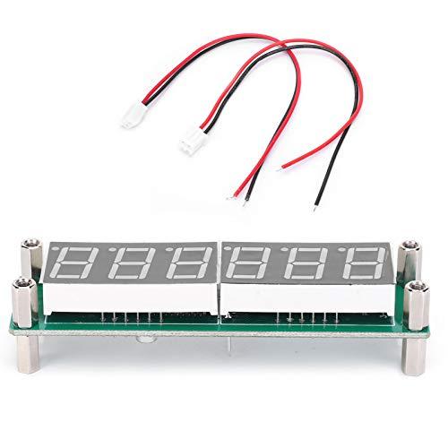 Jeanoko Termómetro de frecuencia, Módulo de visualización de frecuencia, Botón doble multifuncional, Fábrica de prendas de punto para prueba de frecuencia para medición de frecuencia Inicio (rojo)