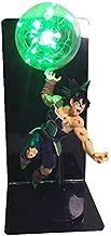 DragonBall Son Goku (Kakarotto) Figure Ka Me Ha Me Ha Creative Table Lamp Led Table Lamp Toy (Color : Green)