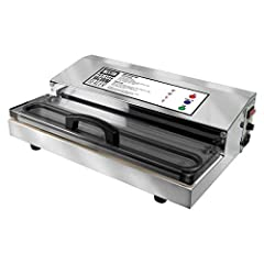 Powerful, pro-performance; Heavy duty construction and 935 watts of power make this vacuum sealer powerful Quick and easy; Just press start; Double piston pump seal bar finishes the job fast; It's the perfect tool for preserving your prized catch or ...