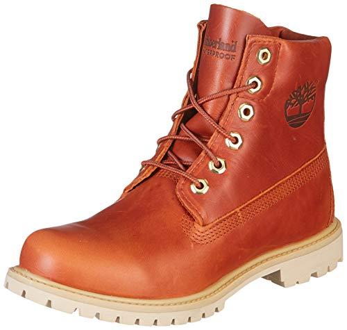 Timberland Damen Boots Paninara Collarless 6 WP Burnt ORANGE 38