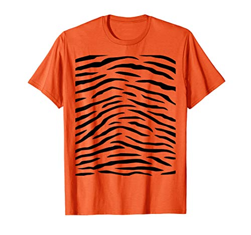 Tiger Print - Easy Halloween Costume Idea - Tee Shirt