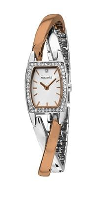 Accurist LB1638P - Reloj de pulsera mujer, color bicolor de Accurist