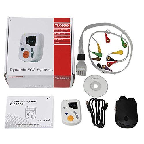 HYCy Dynamische TLC6000 48 Stunden 12 Kanal ECG/EKG Holter-Monitor Alalyzer Recorde CONTEC Herstellung CE FDA