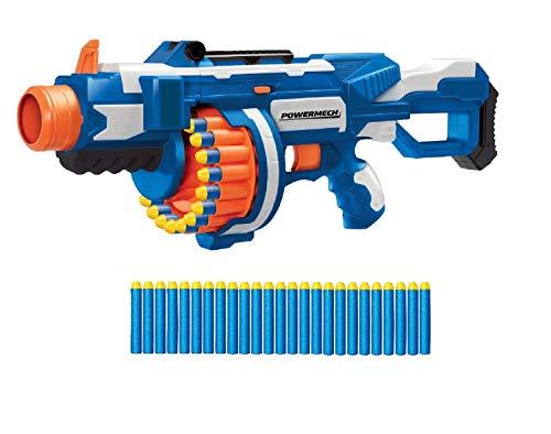 Buzz Bee Powermech Flywheel Dart-Blaster 25 Schuß Trommel