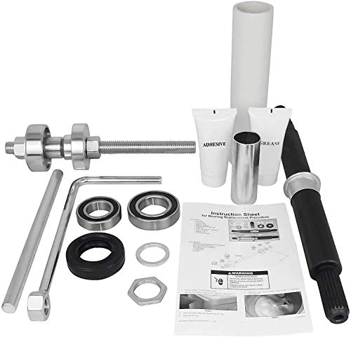 Price comparison product image PREMIUM QUALITY COMPLETE Cabrio Bearing Seal Kit Assembly with Shaft and Tool Set with Premium Box. Replacement for W10435302 and W10447783 by OCTOPUS