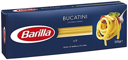 10x Pasta Barilla Bucatini Nr. 9 italienisch Nudeln 500 g pack