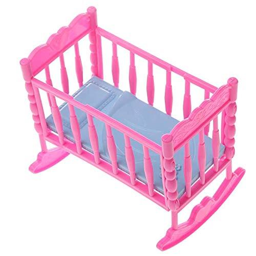 fat-catz-copy-catz 1x Dolls Puppe Große Möbel Zubehör Kinderbett Kinderwagen Kinderwagen Puppe Nicht Enthalten Made for Barbie Shelly