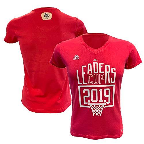 Liga Nacional de Baloncesto Oficial T- Camiseta de Supporter para Mujer, Mujer, TSHIRTLCROSEF, Rosa, XS
