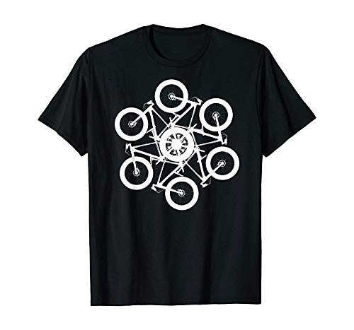 Bicycles Art Racing Our Cycling is The Best Performance T Shirt (2XL) Black