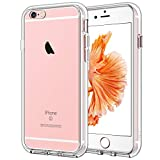 Jetech funda compatible iphone 6s plus y iphone 6 plus, anti-choques y anti-arañazos, transparente