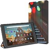 Estuche para Las Patas de un Gato en un Piano Fire HD 10 Tablet(9.a/7.a generación,versión 2019/2017...