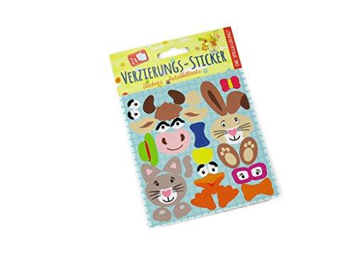 Spiegelburg 12943 Stickers pour décorer printemps à la ferme