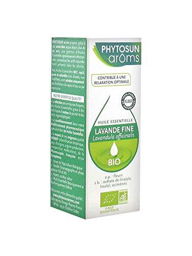 Phytosun Arôms Lavande Fine (Lavandula officinalis) Bio 10 ml
