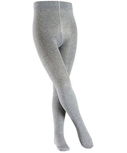 Esprit Unisex-Kinder Foot Logo Strumpfhose, Grau (Light Grey Melange 3390), 122/128