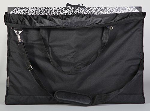 Clairefontaine 90180C Bolsa de transporte de carteras, 60 x 70 x 5 cm, negro